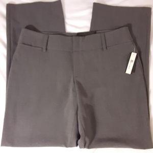 NWT AB Studio Milan Gray Dress Pants